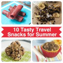 10 Tasty Travel Snacks for Summer