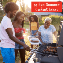 10 Fun Summer Cookout Ideas