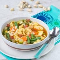 30-Minute Vegetable Tortellini Soup