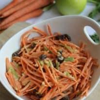 4-Ingredient Carrot Raisin Salad