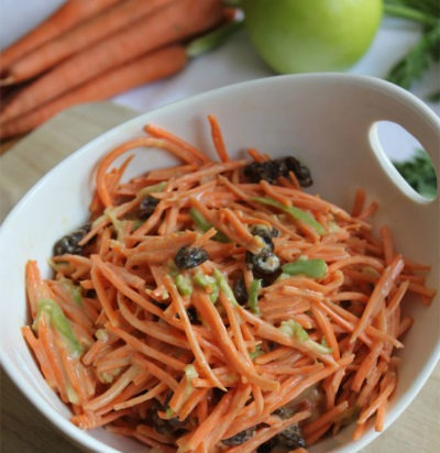 4-Ingredient Carrot Raisin Salad