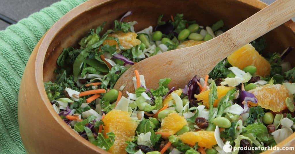 chopped sunflower crunch salad