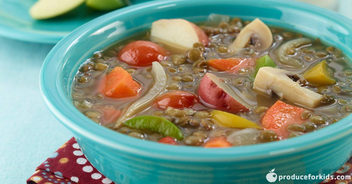 veggie lentil soup