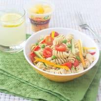 Packable Caesar Pasta Salad