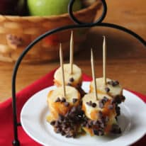Caramel Apple Banana Bites