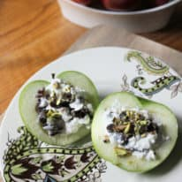Cottage Cheese-Stuffed Apples