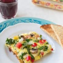 Greek Breakfast Casserole