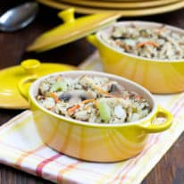 Made-Over Chicken Wild Rice Casserole