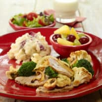 Rosemary Pork Tenderloin & Roasted Vegetables