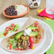 Slow Cooker Steak Fajitas
