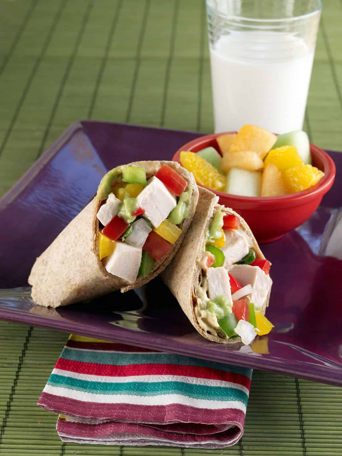 how to make a southwest chicken wrap