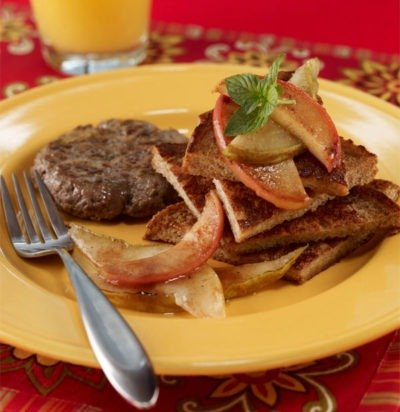 Apple & Pear French Toast