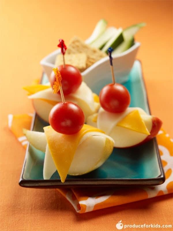 Apple Pear Gondolas