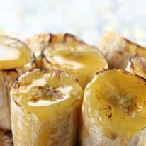 Cinnamon-Honey Banana Bites