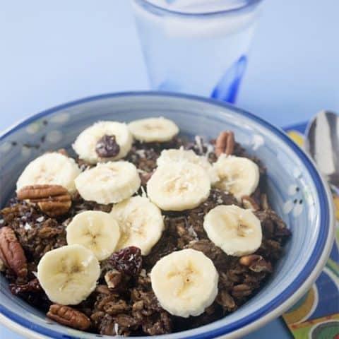 Coco-Banana Overnight Oats