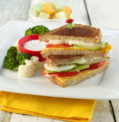 Easy Cheesy Tomato Sandwiches