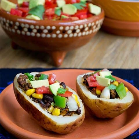 Fiesta Baked Potatoes