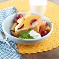 Fruit & Cream Delights