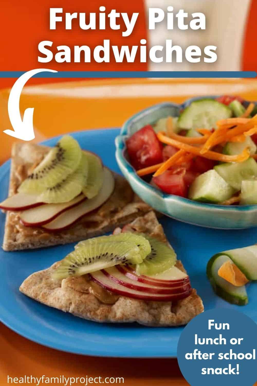 fruity pita sandwiches pinterst image