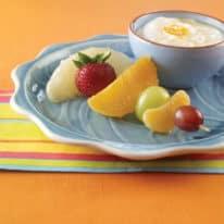 Fun Fruity Skewers with Orange Dip