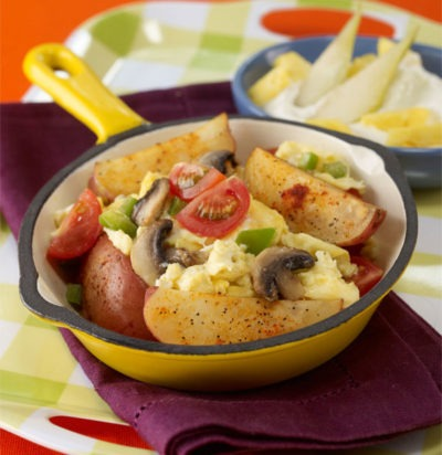 Veggie Breakfast Scramble with Potatoes