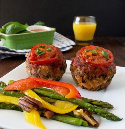 Gluten-Free Italian Meatloaf Muffins