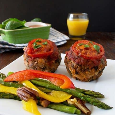 Gluten Free Italian Meatloaf Muffins