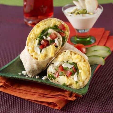 Greek Breakfast Wrap