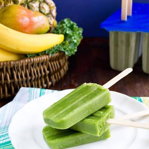 Green Smoothie Pops