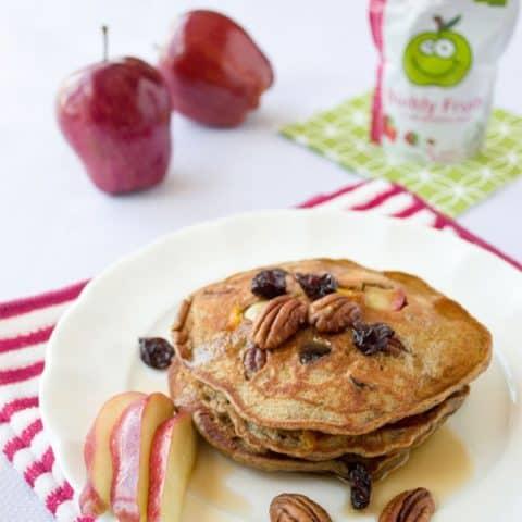 Nutty Apple Pancakes