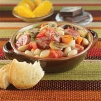 One-Pot Sausage Veggie Cassoulet