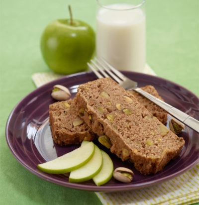 Pistachio Apple Bread