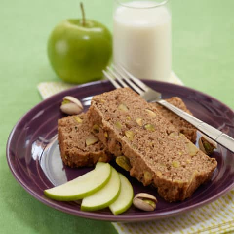 Pistachio Apple Bread