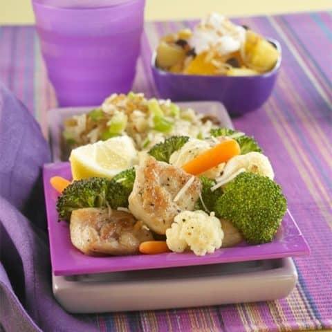 Roasted Chicken & Vegetables