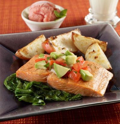 Sensational Salsa Salmon