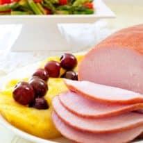 Slow Cooker Ham with Pineapple & Cherries