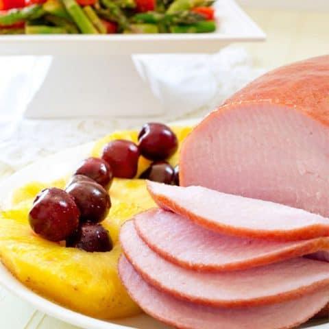 Slow Cooker Ham & Pineapple