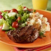 Steak & Cauliflower Mashed Potatoes