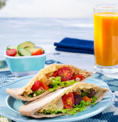 Vegan Greek Pita