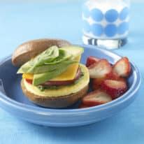 Veggie Egg Sandwich