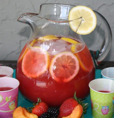 Very Berry Peach Lemonade