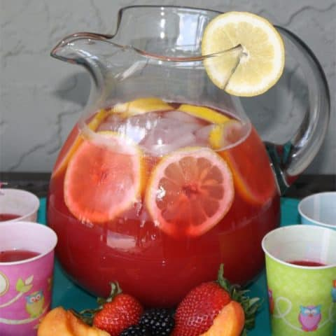 Very Berry Peach Lemonade