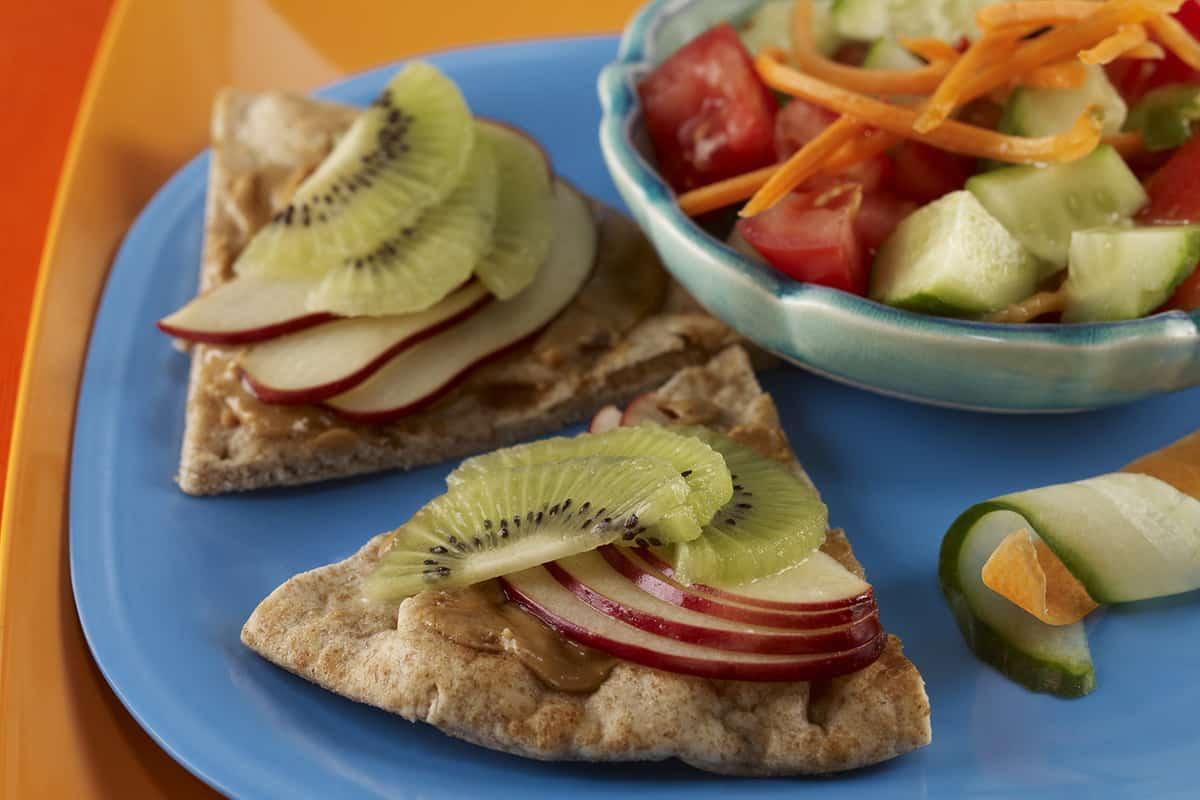 Fruity Pita Sandwiches