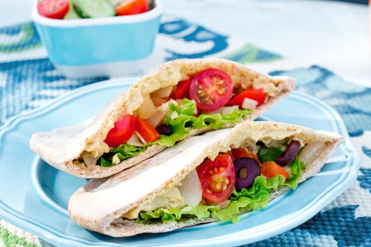The best Vegan Greek Pita