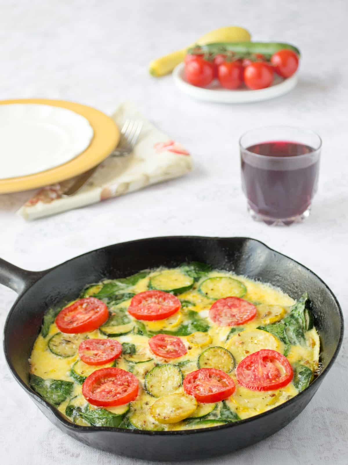 Best Zucchini & Squash Frittata