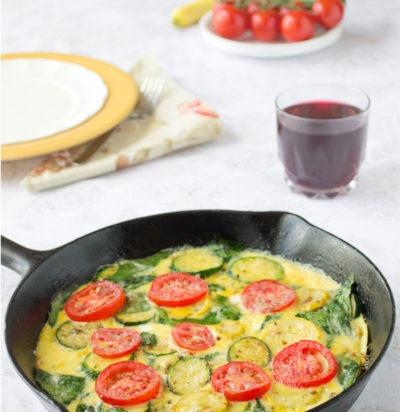 Zucchini & Summer Squash Frittata