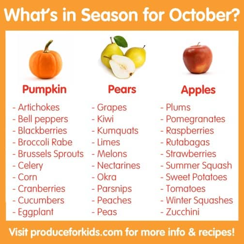 16 fruits and vegetables to buy in October | The Daily ...