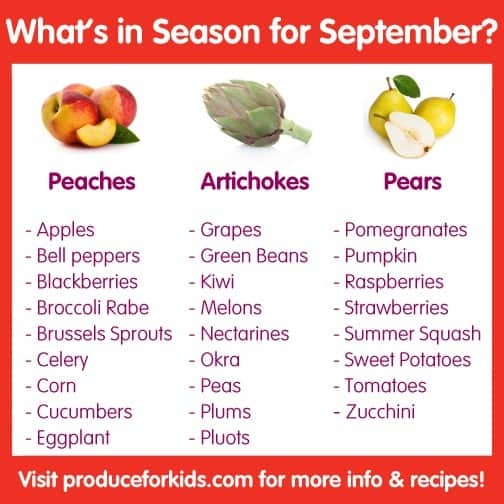 What's in Season for September?
