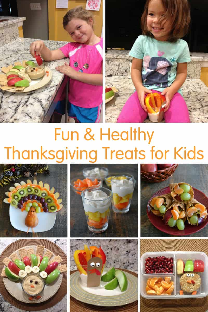 Fun & Healthy Thanksgiving Treats for Kids