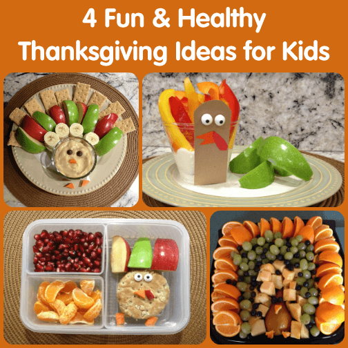 Fun, Healthy Thanksgiving Ideas for Kids